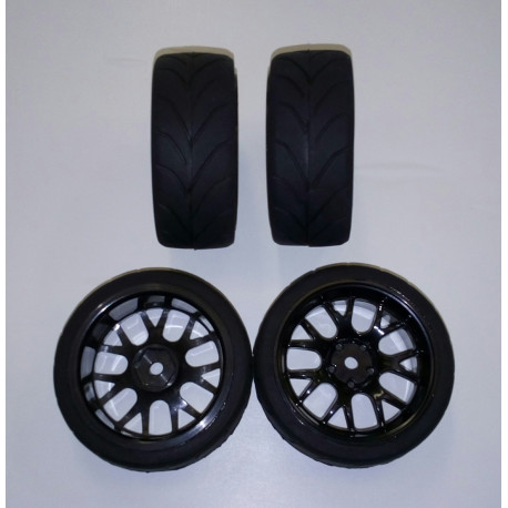 Wheel Set Onroad 1:10