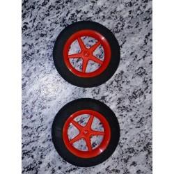 Ultraleichträder 63mm/rot