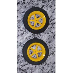 Ultraleichträder 45mm Durchmesser/gelb