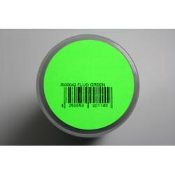 Lexanlack Fluor grün