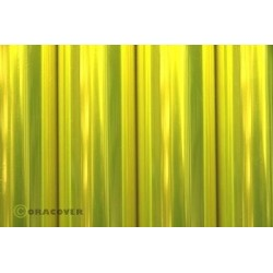 Oracover transparent floureszierend Gelb
