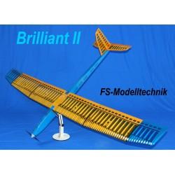 Brilliant II - Elektrosegler Holzbausatz