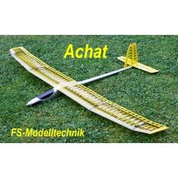 Achat - Elektrosegler Holzbausatz mit Gfk-Rumpf