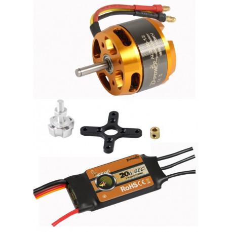 AL 3530-12 Brushless-Motor+Regler/Set