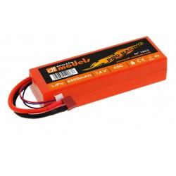 LiPo-Akku 2S/6500mAh Hardcase