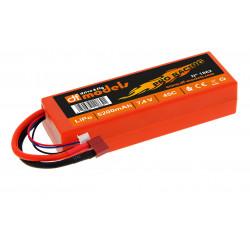 LiPo-Akku Hardcase 2S-5200mAh